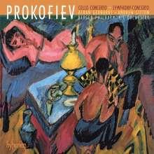 Serge Prokofieff (1891-1953): Cellokonzert op.58 e-moll, CD