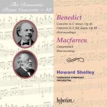 Julius Benedict (1804-1885): Klavierkonzerte c-moll op.45 & Es-Dur op.89, CD