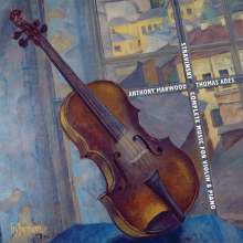 Igor Strawinsky (1882-1971): Die Werke für Violine & Klavier, 2 CDs