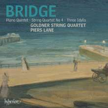 Frank Bridge (1879-1941): Klavierquintett, CD