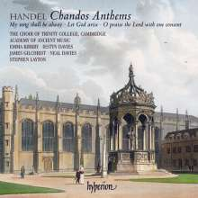 Georg Friedrich Händel (1685-1759): Chandos Anthems Nr.7,9,11a, CD