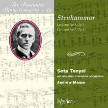 Wilhelm Stenhammar (1871-1927): Klavierkonzerte Nr.1 b-moll op.1 & Nr.2 d-moll op.23, CD