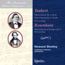 Jacob Rosenhain (1813-1894): Klavierkonzert d-moll op.73, CD