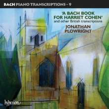 Johann Sebastian Bach (1685-1750): Transkriptionen für Klavier Vol.9, CD