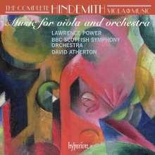 Paul Hindemith (1895-1963): Sämtliche Werke für Viola Vol.3 (Viola mit Orchester), CD