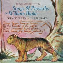 Benjamin Britten (1913-1976): Songs & Proverbs of William Blake, CD