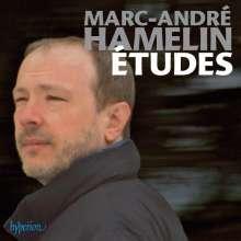 Marc-Andre Hamelin (geb. 1961): 12 Etüden (in allen Moll-Tonarten), CD