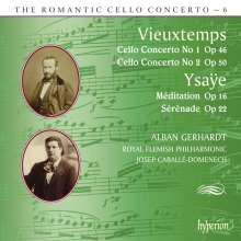 Henri Vieuxtemps (1820-1881): Cellokonzerte Nr.1 & 2, CD
