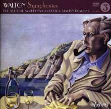 William Walton (1902-1983): Symphonien Nr.1 & 2, CD