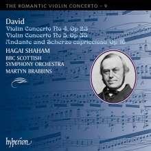Ferdinand David (1810-1873): Violinkonzerte Nr.4 & 5, CD