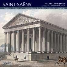 Camille Saint-Saens (1835-1921): Orgelwerke, CD