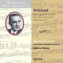 Adolf Wiklund (1879-1950): Klavierkonzerte Nr.1 & 2, CD