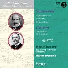 """Arthur Somervell (1863-1937): Klavierkonzert a-moll """"Highland"""", CD"""