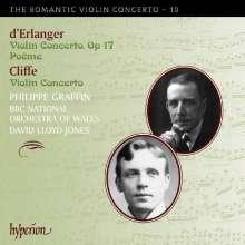 Frederic d'Erlanger (1868-1943): Violinkonzert d-moll op.17, CD