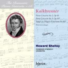Friedrich Kalkbrenner (1785-1849): Klavierkonzerte Nr.2 & 3 (e-moll op.85 & a-moll op.107), CD