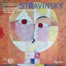 Igor Strawinsky (1882-1971): Konzert für Klavier & Bläser, CD