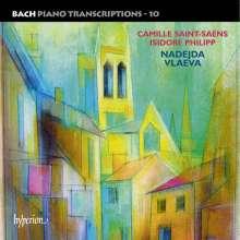 Johann Sebastian Bach (1685-1750): Transkriptionen für Klavier Vol.10 (Saint-Saens/Philipp), CD