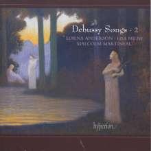 Claude Debussy (1862-1918): Lieder Vol.2, CD