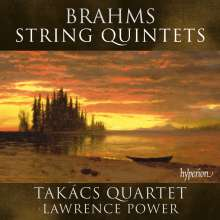 Johannes Brahms (1833-1897): Streichquintette Nr.1 & 2, CD