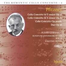 Hans Pfitzner (1869-1949): Die drei Cellokonzerte, CD