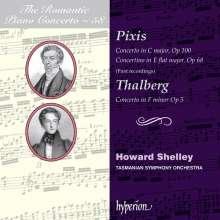 Johann Peter Pixis (1788-1874): Klavierkonzerte C-Dur op.100 & Es-Dur op.68, CD
