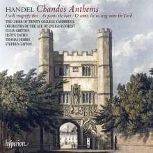 Georg Friedrich Händel (1685-1759): Chandos Anthems Nr.5a,6a,8, CD