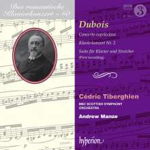 Theodore Dubois (1837-1924): Klavierkonzert Nr.2, CD