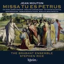 Jean Mouton (1459-1522): Missa Tu es Petrus, CD