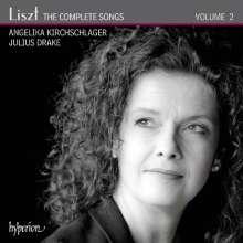 Franz Liszt (1811-1886): Sämtliche Lieder Vol.2, CD