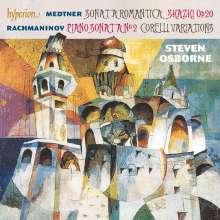 Nikolai Medtner (1880-1951): Klaviersonate op.53 Nr.1, CD