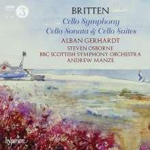 Benjamin Britten (1913-1976): Symphonie für Cello & Orchester op.68, 2 CDs