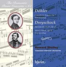 Theodor Döhler (1814-1856): Klavierkonzert A-Dur op. 7, CD