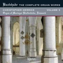 Dieterich Buxtehude (1637-1707): Sämtliche Orgelwerke Vol.5, CD