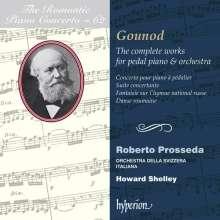 Charles Gounod (1818-1893): Sämtliche Werke für Pedalflügel & Orchester, CD