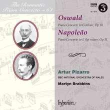 Alfredo Napoleao (1852-1917): Klavierkonzert Nr.2 e-moll op.31, CD