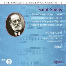 Camille Saint-Saens (1835-1921): Cellokonzerte Nr.1 & 2, CD
