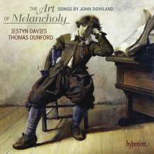 "John Dowland (1562-1626): Lautenlieder - ""The Art of Melancholy"", CD"
