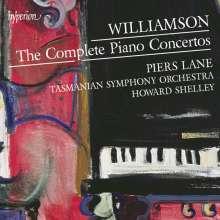 Malcolm Williamson (1931-2003): Die Klavierkonzerte, 2 CDs
