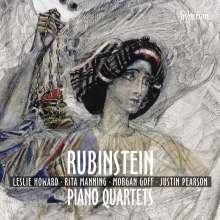 Anton Rubinstein (1829-1894): Klavierquartette F-Dur op.55b & C-Dur op.66, CD