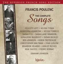 Francis Poulenc (1899-1963): Sämtliche Lieder, 4 CDs
