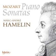 Wolfgang Amadeus Mozart (1756-1791): Klaviersonaten Nr.4, 5, 10, 12, 13, 16-18, 2 CDs