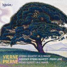 Gabriel Pierne (1863-1937): Klavierquintett op.41, CD