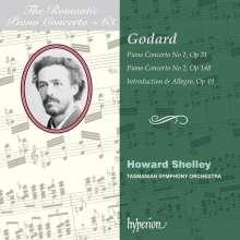 Benjamin Godard (1849-1895): Klavierkonzerte Nr.1 & 2, CD