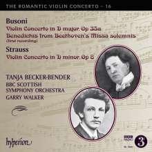 Ferruccio Busoni (1866-1924): Violinkonzert op.35a, CD