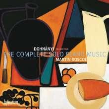 Ernst von Dohnanyi (1877-1960): Klavierwerke Vol.4, CD