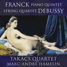 Cesar Franck (1822-1890): Klavierquintett f-moll, CD