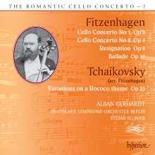 Wilhelm Fitzenhagen (1848-1890): Cellokonzerte Nr.1 & 2, CD