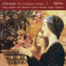 Richard Strauss (1864-1949): Sämtliche Klavierlieder Vol.7, CD