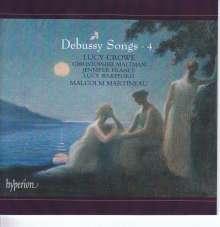 Claude Debussy (1862-1918): Lieder Vol.4, CD
