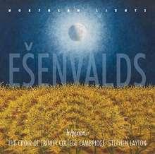 """Eriks Esenvalds (geb. 1977): Chorwerke """"Northern Lights"""", CD"""